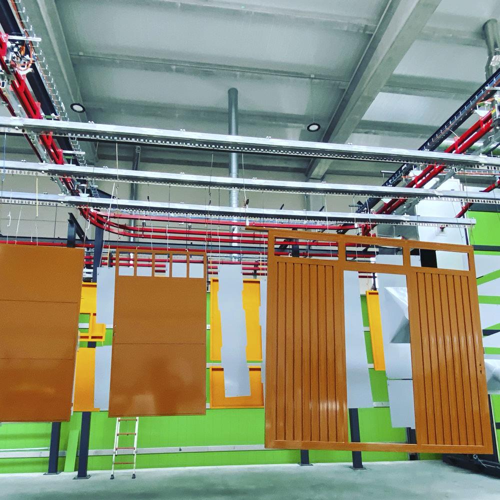 Lacados Lugo, lacado de materiales para construcción y arquitectura